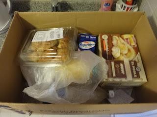 Compras de lanche no supermercado de Bariloche