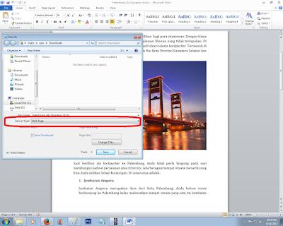 Cara Jitu Mengambil Gambar dari Microsoft Word