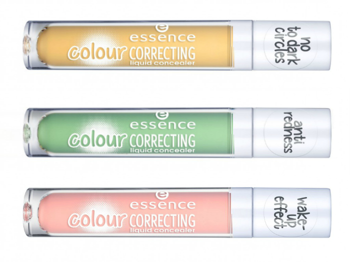 essence colour correcting liquid concealer