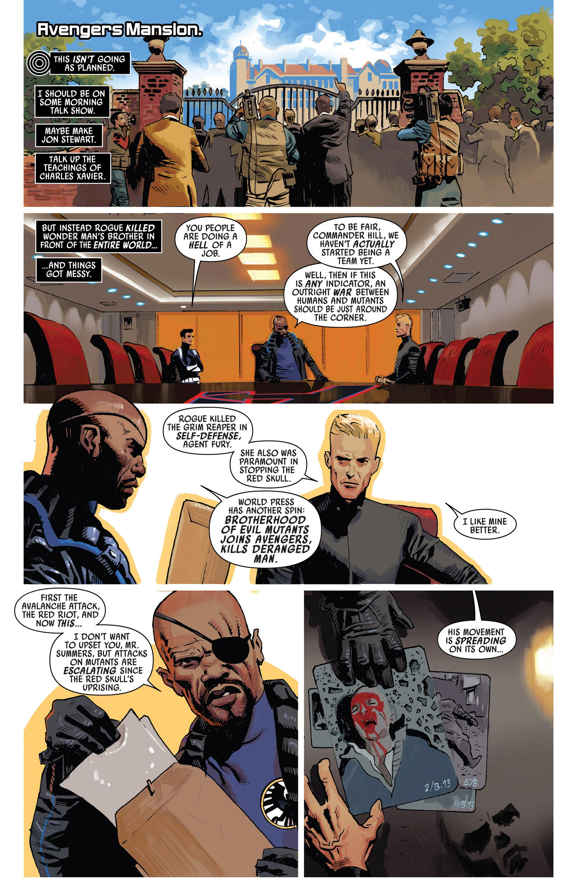 Read online Uncanny Avengers (2012) comic -  Issue #7 - 9
