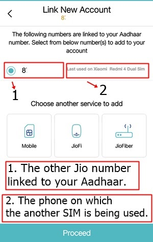 how many jio sim on my aadhar card
