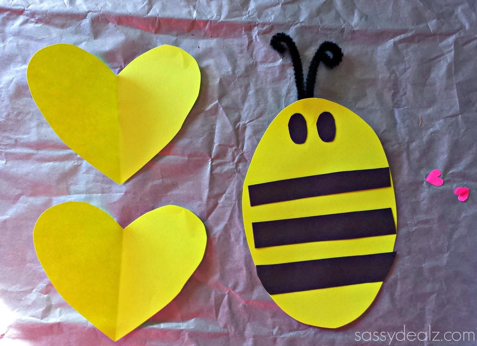 Bee Mine Preschool Craft