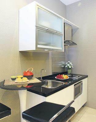 bentuk dapur rumah type 36