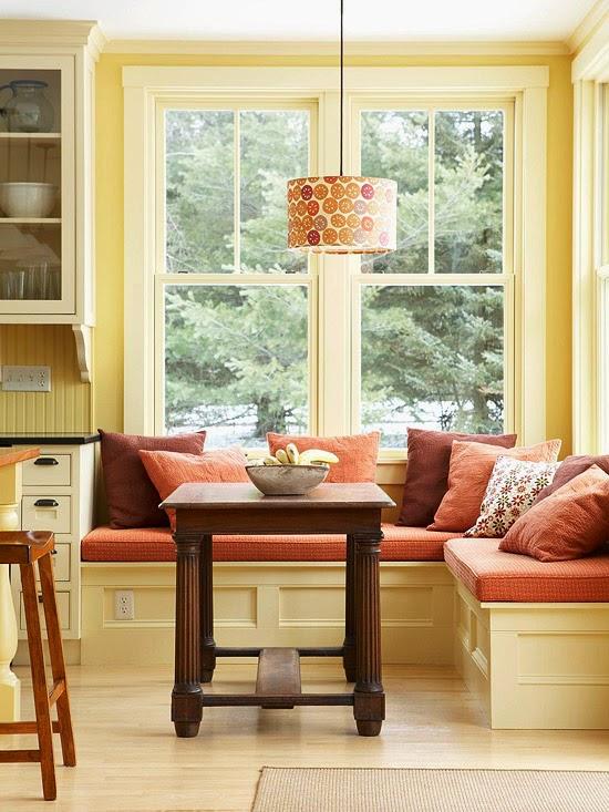 9 Desain Ruang Makan Minimalis Terbaru Sofa Bentuk L