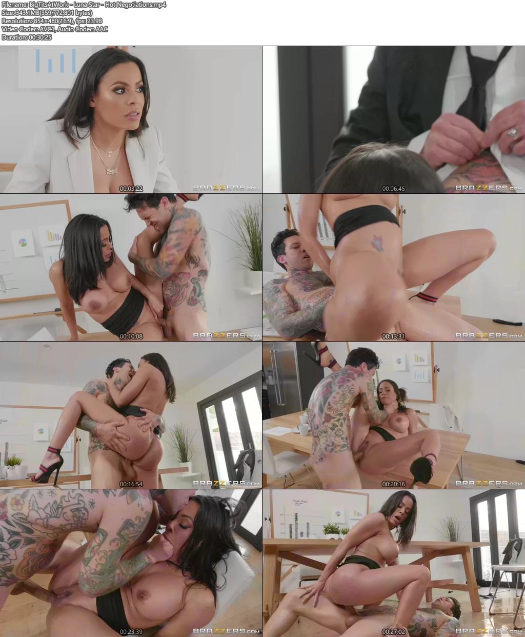 [18+] BigTitsAtWork - Luna Star Sex Video - Hot Negotiations XXX Screenshot