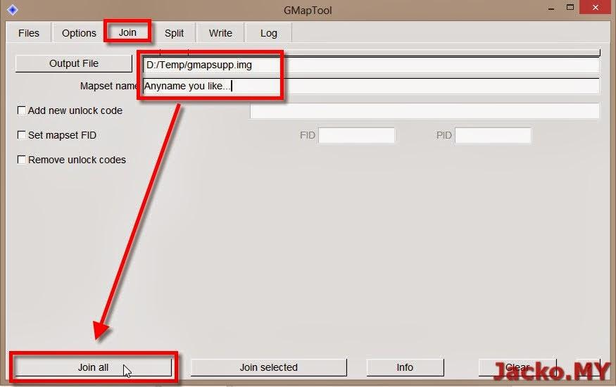How to unlock gmapsupp img | Peatix