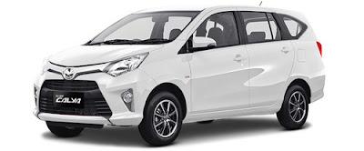 Rental / Sewa Mobil Bulanan TOYOTA CALYA di Jakarta
