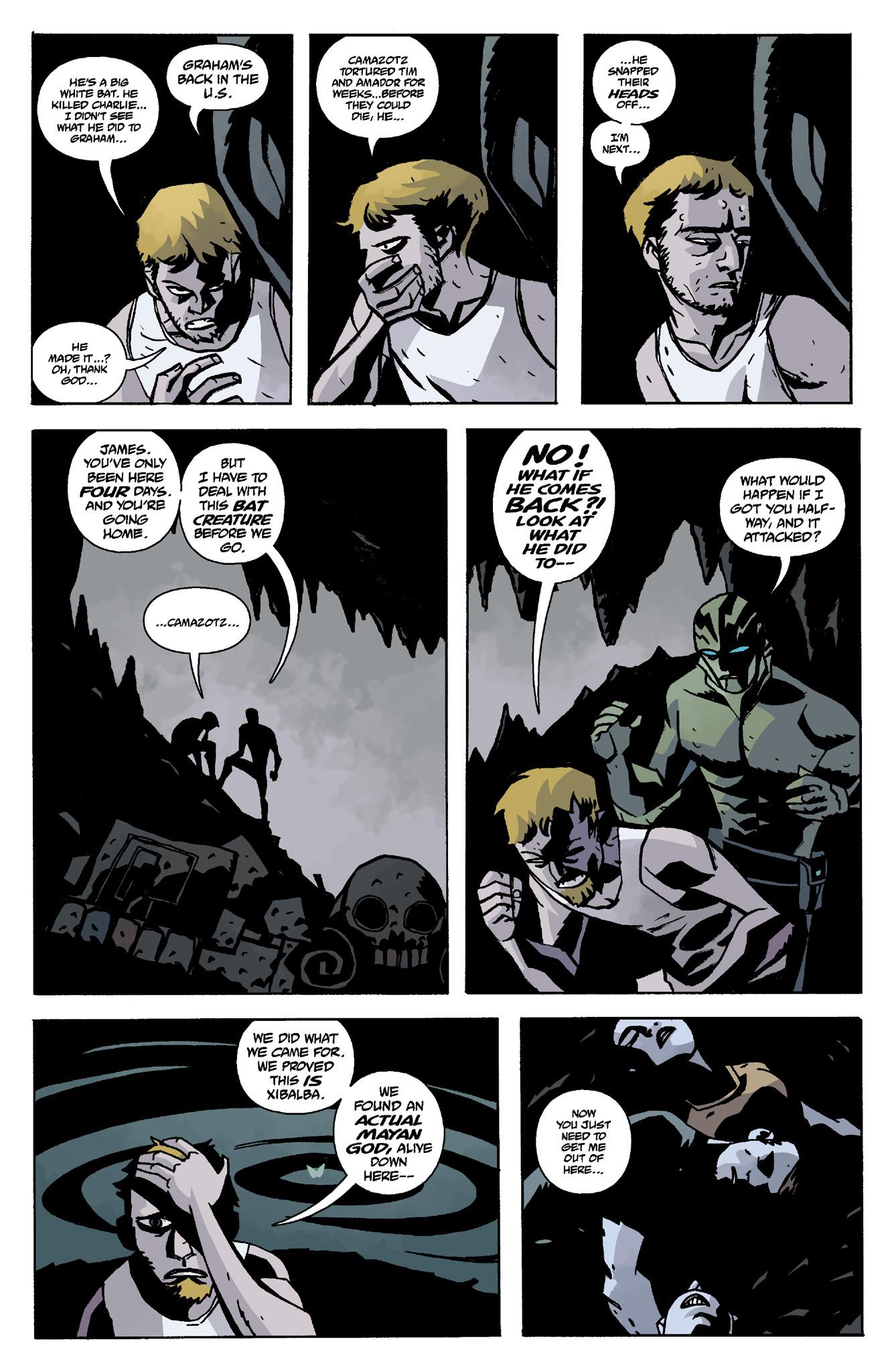 Read online Abe Sapien comic -  Issue #8 - 9