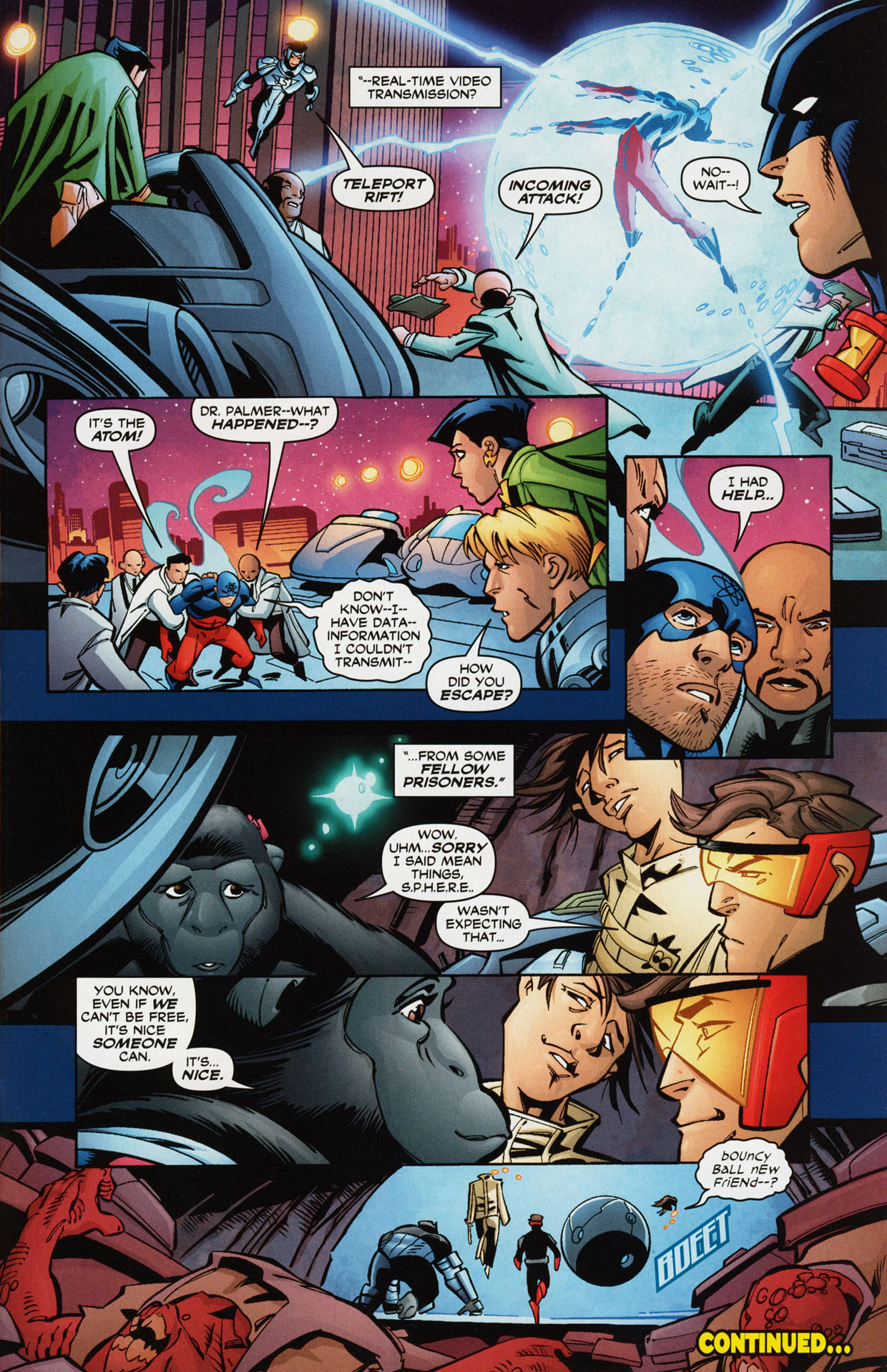 Read online Trinity (2008) comic -  Issue #36 - 30