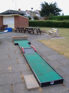 Crazy Golf in Skegness, Lincolnshire