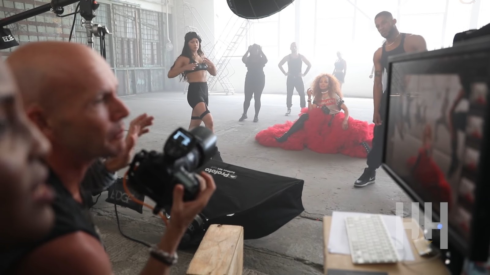"Get a behind-the-scenes look at Janet Jackson's photo shoot for ""ESSENCE"" magazine."