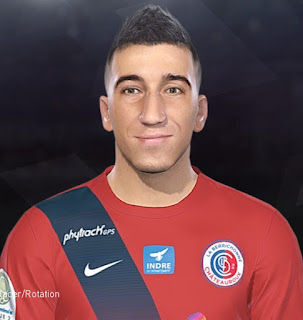 PES 2018 Faces Saïd Benrahma by Tiitoo
