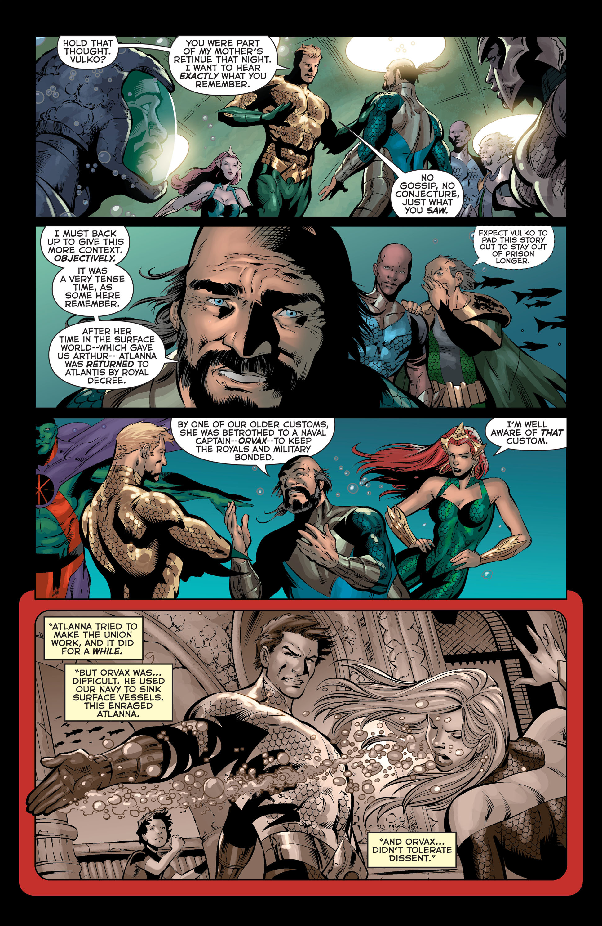 Read online Aquaman (2011) comic -  Issue #36 - 7