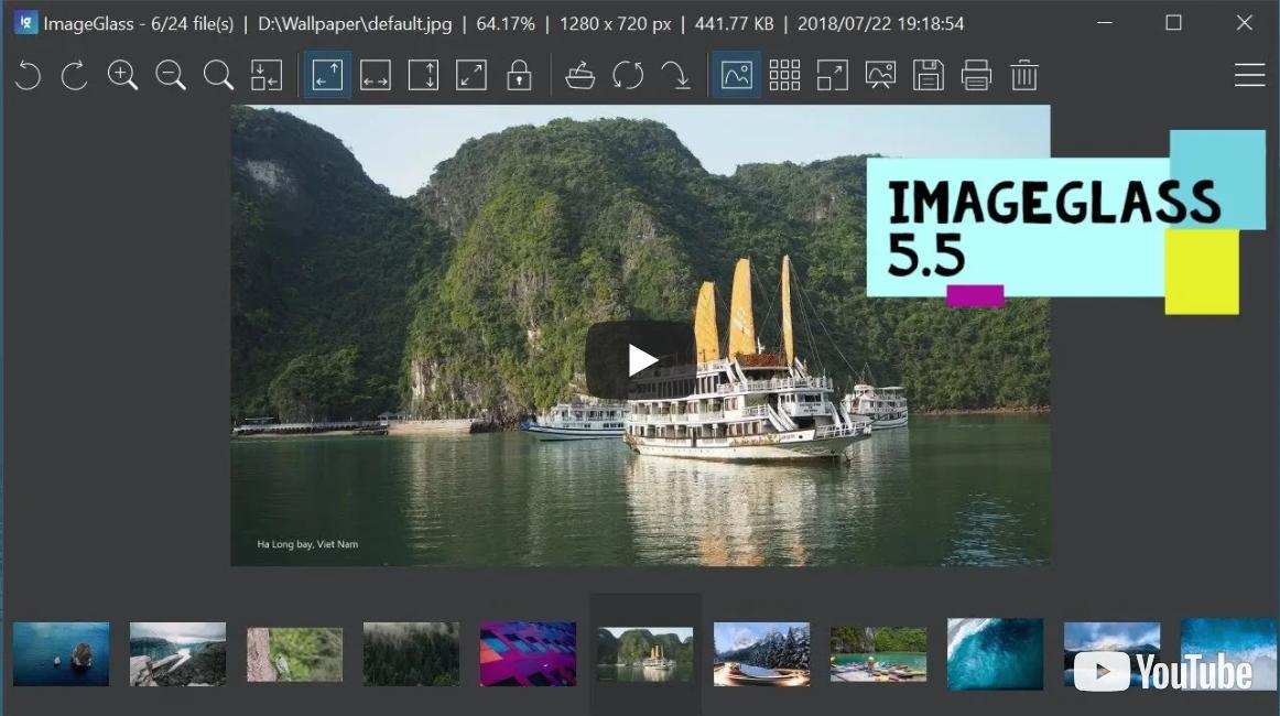 ImageGlass 輕量級的圖片檢視軟體