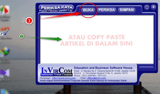Cara Otomatis Memeriksa Typo Artikel Secara Offline