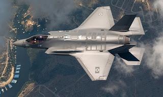 Jet Tempur F-35 AU Israel