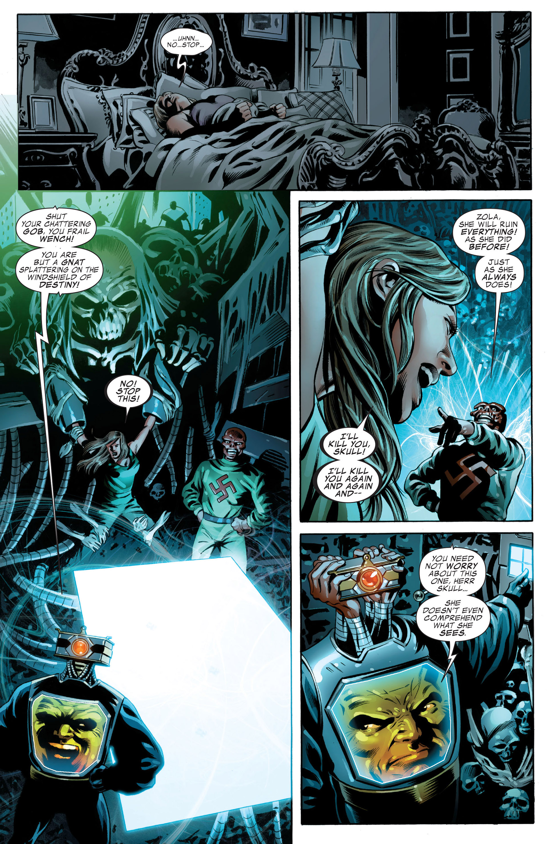 Read online Captain America (2005) comic -  Issue #49 - 22