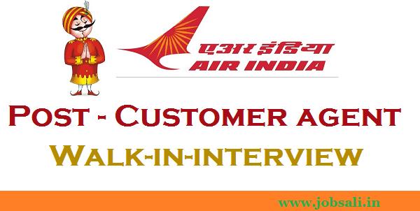 Air India Jobs, Air India Vacancy, Customer agent Jobs in Mumbai