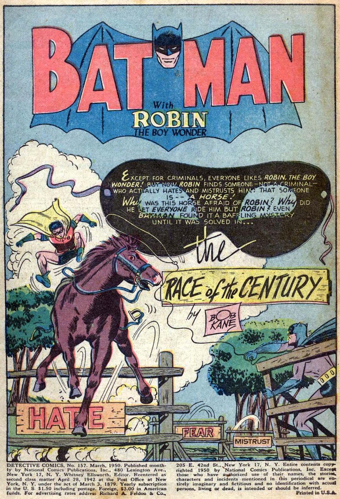 Detective Comics (1937) 157 Page 2