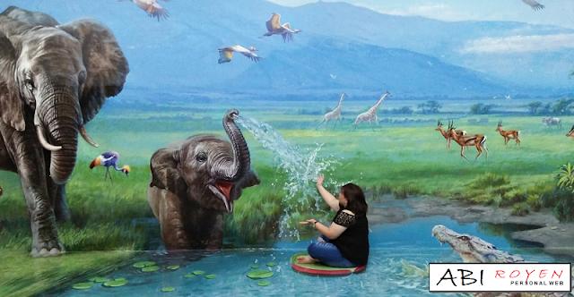 Tempat Wisata Di Bandung Yang Paling Hits Amazing Art World