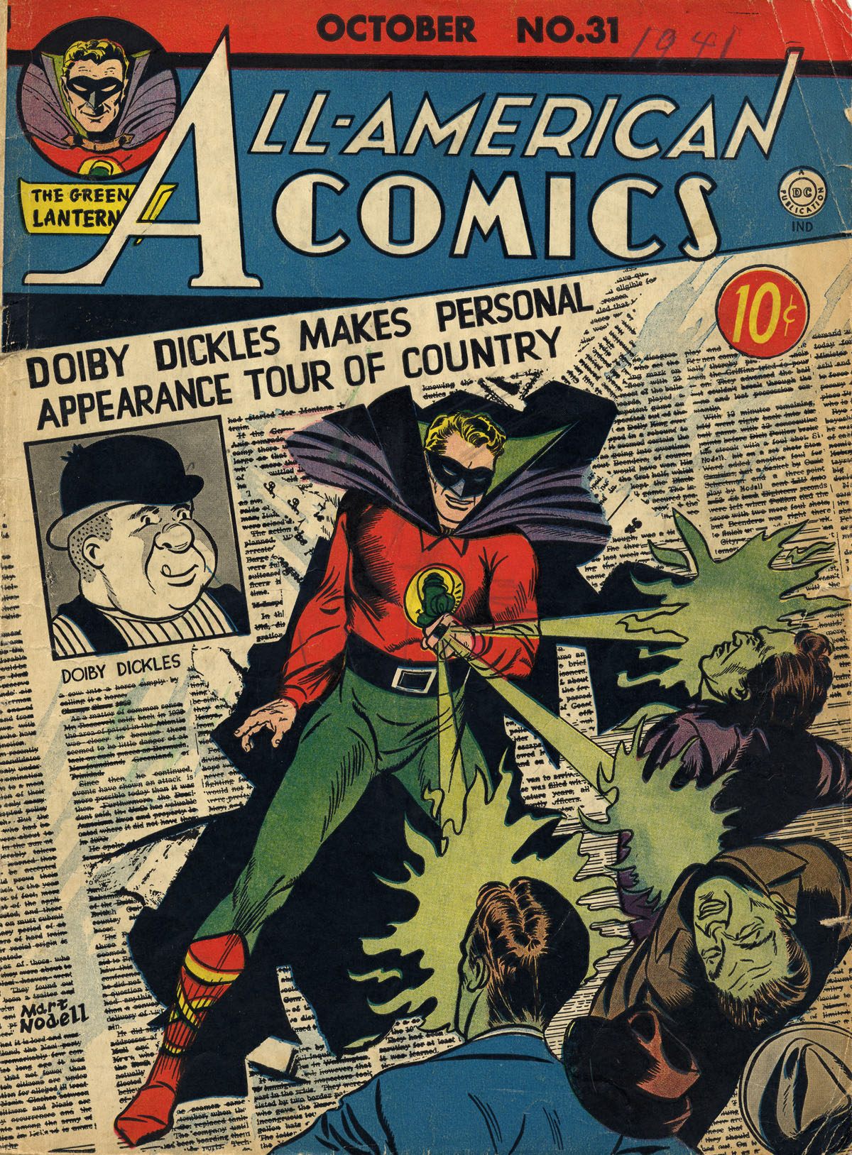 Read online All-American Comics (1939) comic -  Issue #31 - 1