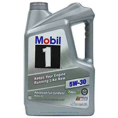 5W-30 Mobil 1 Oil - Full Synthetic Motor Lubricant