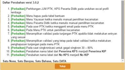 Update Aplikasi Terbaru Dapodik PAUD ke Versi 3.0.2