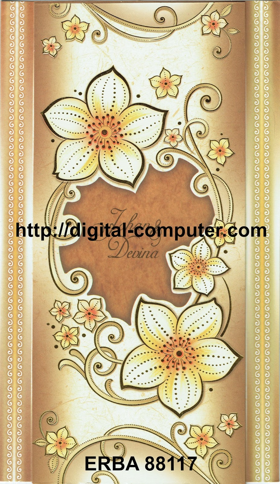 Undangan Softcover ERBA 88117