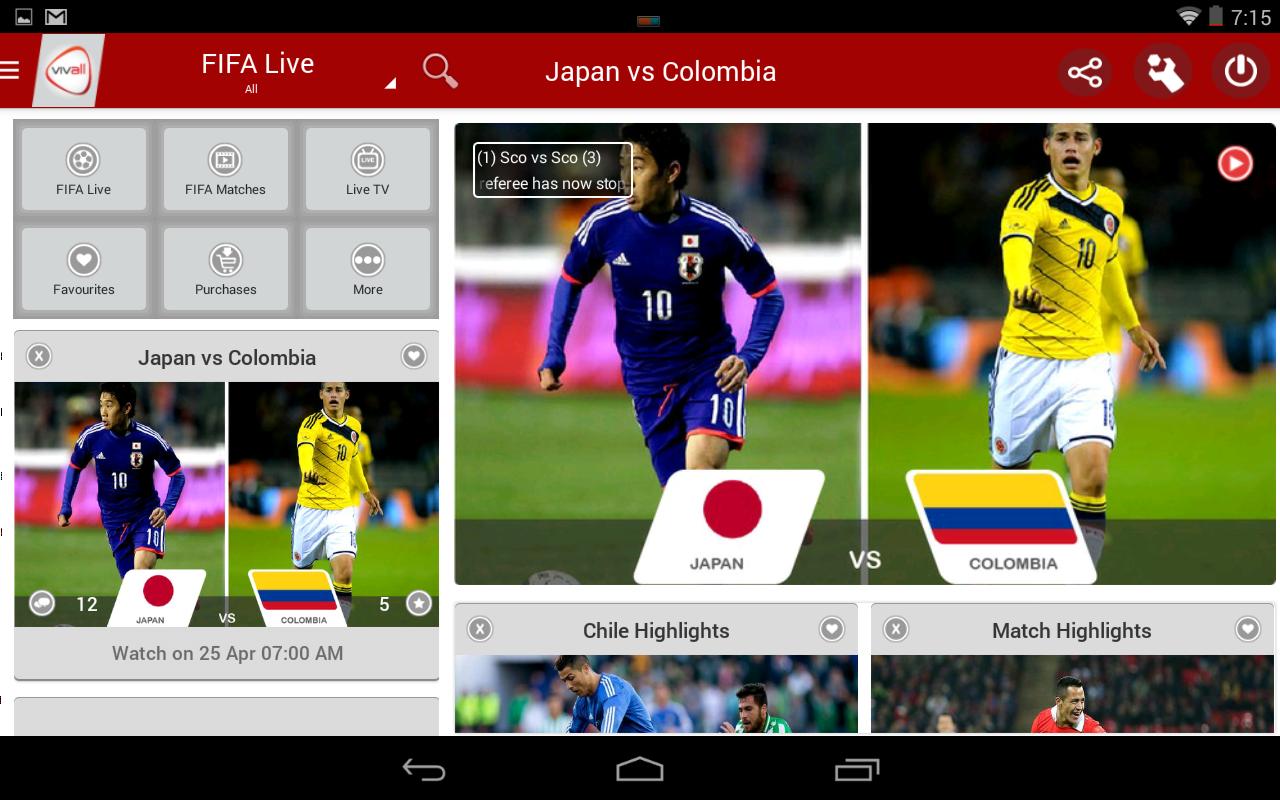 Cara Menonton Piala Dunia di Android