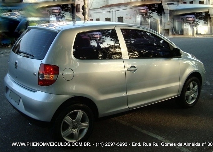 VW Fox Sportline 1.6 Flex 2004 prata - semi-novo