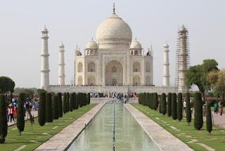 Gambar Taj Mahal, Agra, India