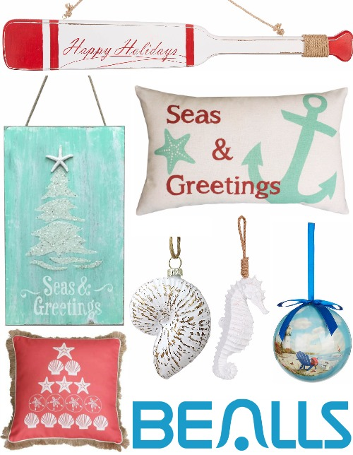 Coastal Christmas Decor and Ornaments at Bealls