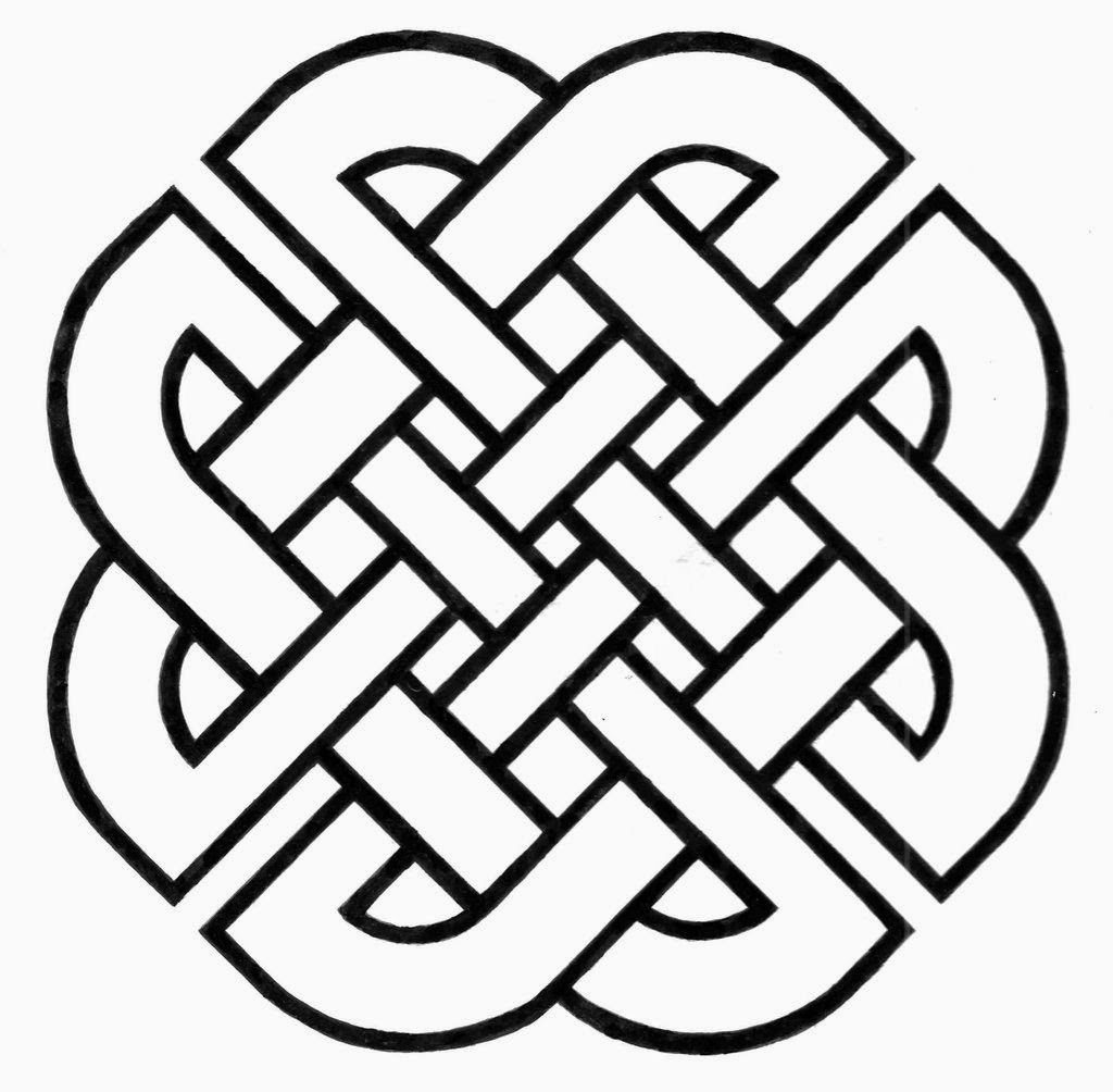 simple celtic designs - 735×721