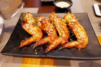honey wings at Angus Dan's Steakhouse in Cebu