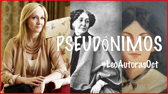 escritoras pseudonimos #LeoAutorasOct