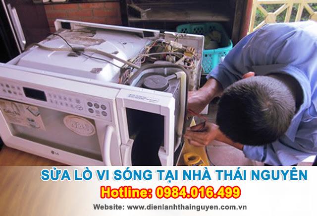 Sửa chữa Lò Vi Sóng tại nhà Thái Nguyên
