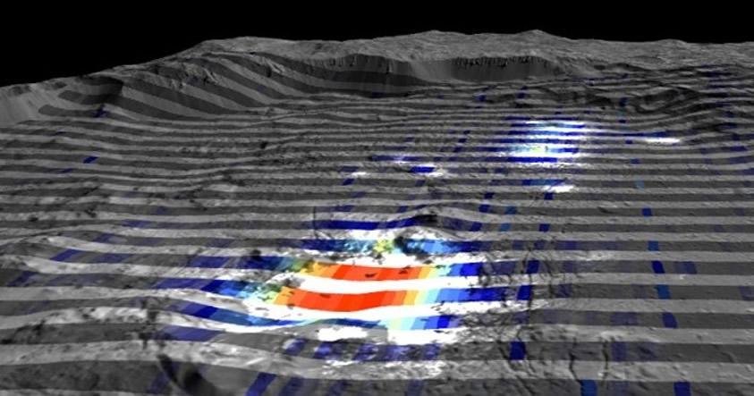 El origen de los puntos brillantes de Ceres toma otro rumbo: «No era lo que se pensaba»