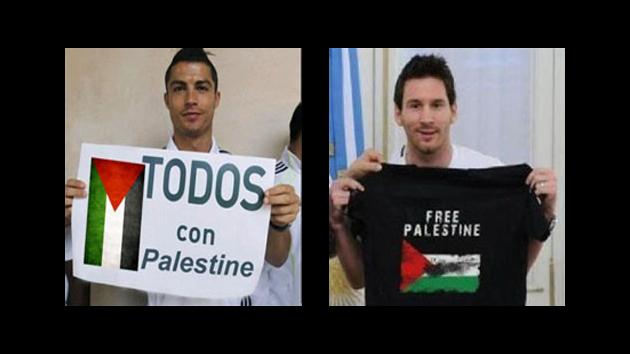 Ternyata Foto Dukungan Untuk Palestina dari Pemain Bola Terkenal Ini Palsu!