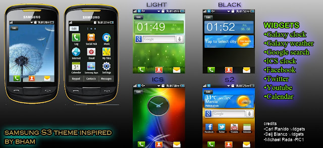 theme samsung corby 2 gt-s3850