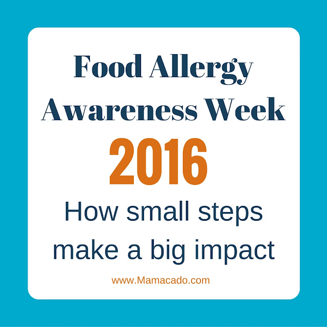 Food allergy awareness week: small steps make a big impact