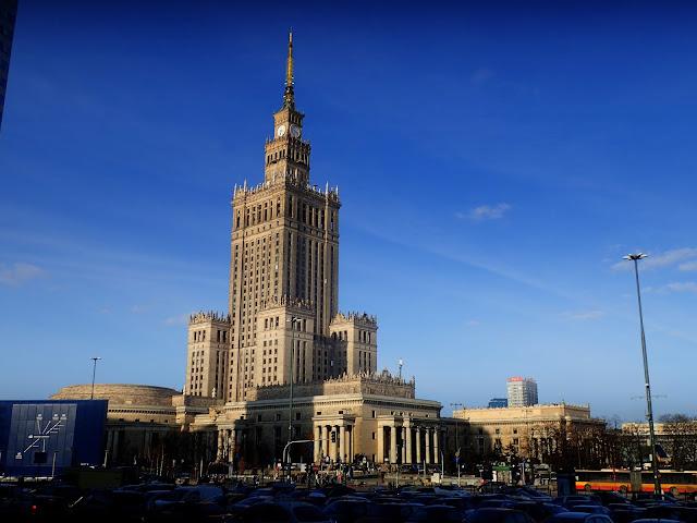 Pałac Kultury i Nauki (marzec 2018)