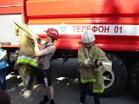 (ФОТО) Боевая одежда пожарного