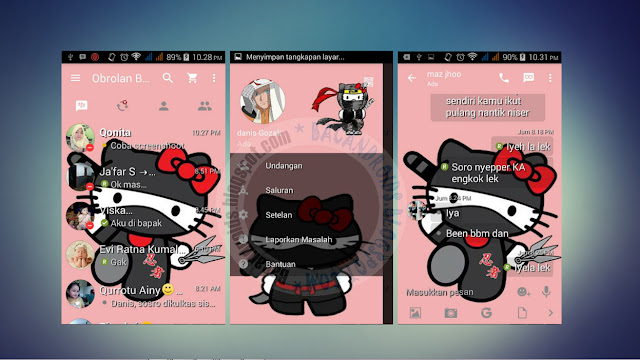 download BBM Mod Tema Hellokitty Terbaru Versi 2.13.1.14 Terbaru
