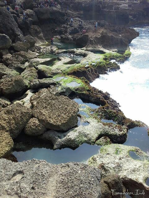 Wisata pantai kedung tumpang tulungagung, jalan dan rute menuju pantai kedung tumpang