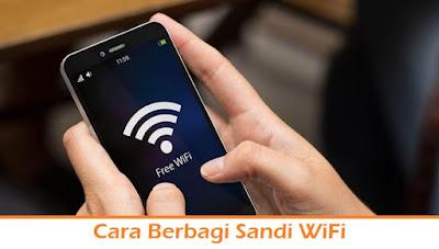 Cara Berbagi Sandi WiFi (Termudah.com)