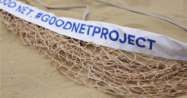 FIVB và dự án tái chế lưới đánh cá cũ