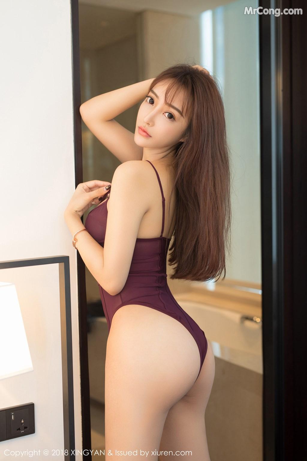 Image XingYan-Vol.086-Angel-MrCong.com-004 in post XingYan Vol.086: Người mẫu 安安Angel (40 ảnh)