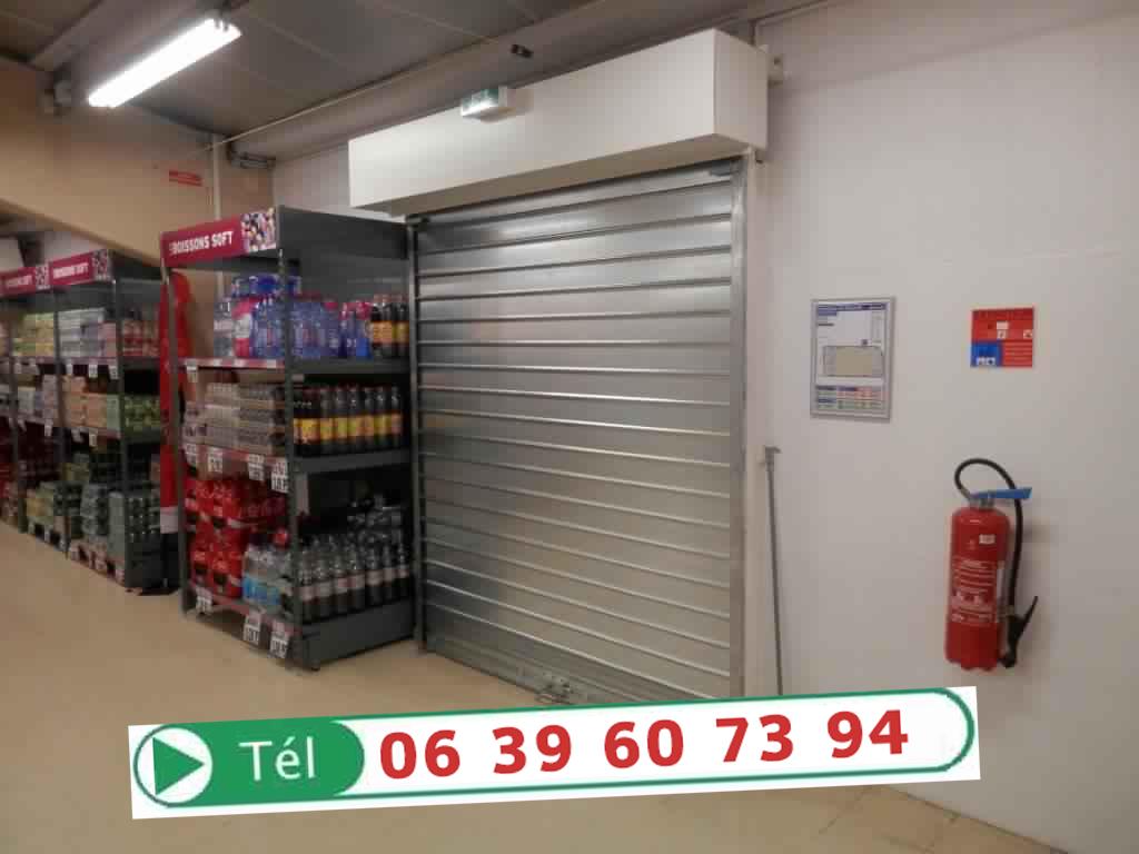 Installation d pannage de vos rideaux m tallique marrakech camera de surveillance - Rideaux garage electrique ...