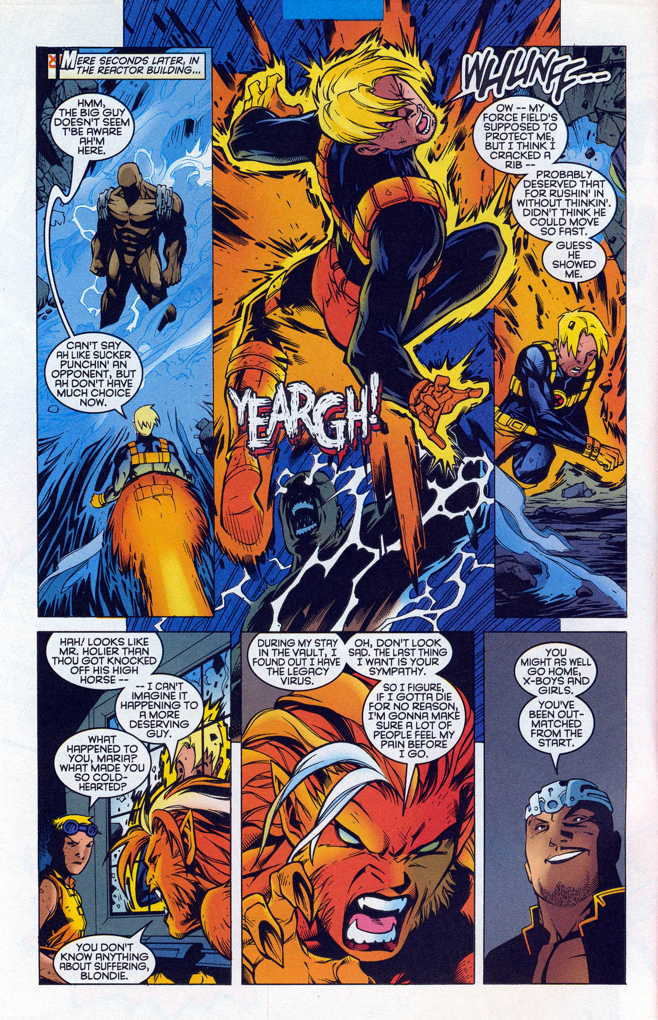 Read online X-Force (1991) comic -  Issue #90 - 8