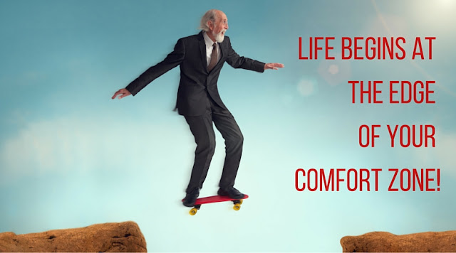 THE SIMPLE STEP YOU NEED TO TAKE TO BREAK OUT OF YOUR COMFORT ZONE